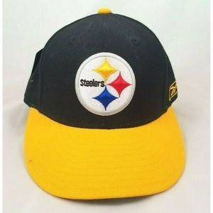 NFL Reebok Pittsburgh Steelers Fitted Hat NWT